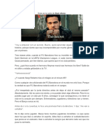 Carta de Dani Alves