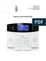 Manual de Alarma GSM