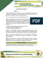 Evidencia AA2 NUTRICION