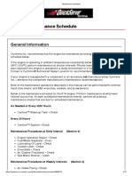 K19 Industrial and Marine Operation and Maintenance Manual - Maintenance Schedule Full