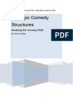 13 Comedy Structures