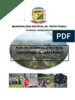 Texto Actualizado Pdc Tintay 2011-2015