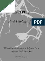 The Art of Bird Photography - ToA by G Steytler