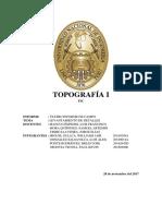 1er Informe Topo