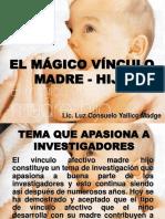 El Mágico Vínculo Madre - Hijo