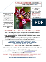 Wisconsin DNR 2018 Election and Vote - Flyer 2 Monarch (v1)