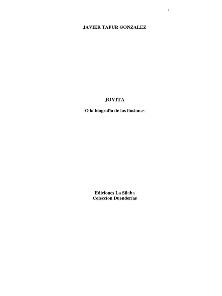 Jovita O La Biografia de Las Ilusiones 673f7ecea482