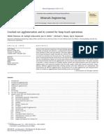 Agglomeration Control Fos Heap Leaching