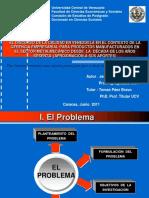 EL DISCURSO DE LA CALIDAD EN VENEZUELA EN EL CONTEXTO DE LA GERENCIA EMPRESARIAL PARA PRODUCTOS MANUFACTURADOS EN EL SECTOR METALMECÁNICO DESDE  LA  DÉCADA DE LOS AÑOS SESENTA  (APROXIMACIÓN A SUS APORTES)