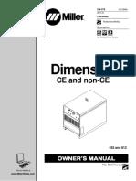 Manual Miller Dimension 652