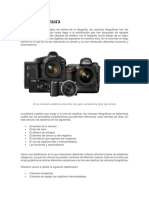 Tipos de Cámara Fotograficas