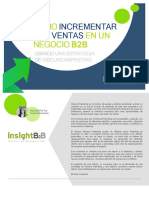 eBook Como Incrementar Las Ventas en Un Negocio B2B Con Inbound Marketing