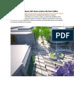 Renovación Urbana Del Área Centro de San Isidro