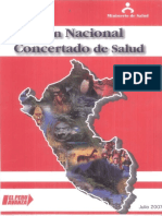 Plan Concertado de Salud 2007-2020