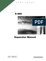 S865 Service Manual