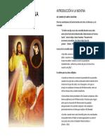 Novena a La Misericordia Divina