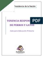 Guia_de_educacion_primaria - Tenencia Responsable de Perros y Gatos