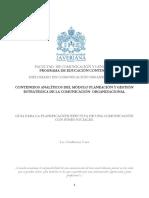 Guia Para La Planificacion Efectiva de Una Comunicacion Con Fines Sociales