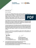 Transatlantic Consumer Dialogue Letter to Facebook CEO Mark Zuckerberg