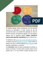 Juegos de Matematicas Divertidos.