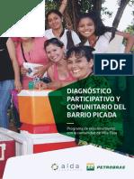 Diagnóstico Comunitario.  Brochure. Petrobras Paraguay