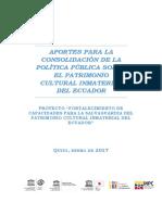 Ecuador-FIT Project 2015-2017 on PCI-ES