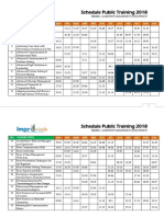 01-25 Schedule Public Training