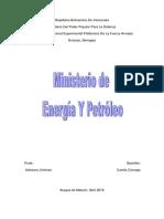 Ministerio de Energia y Petroleo
