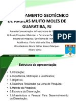 Comportamento Geotecnico de Argilas Muito Moles de Guaratiba, Rj