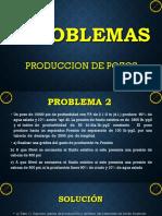 Problema de Producion de Pozos