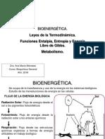 Clase 2 Bioenergética 2018