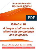 canon 18 19 legal ethics