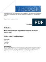 GAIN Food and Agricultural Import Regulations and Standards - Certification_Manila_Philippines_12!18!2015