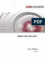 Hikvision Manual