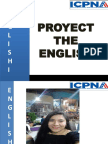 Proyect the English