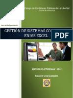 Manual de Aprendizaje Excel Contable