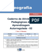 Geografia Regular Professor Autoregulada 7a 2b