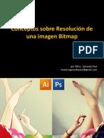 Conceptos Básicos de Resolución de una Imagen Bitmap