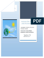 Radiación Solar Monografia