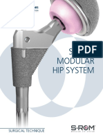 S-ROM Modular Hip System Surgical Technique 0601-36-050r8