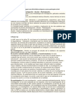 IAP Es La Sigla de Investigación Acción Participación Enfoques