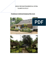 Pola Pemukiman Rumah Tradisional Sunda(Perbaikan Tugas 1)