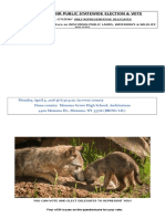 Wisconsin DNR 2018 Election and Vote - Flyer 4 Wolves (v1)