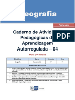 Geografia Regular Professor Autoregulada 7a 4b