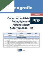Geografia Regular Professor Autoregulada 7a 4b