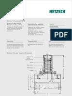 NETZSCH - Safety Valve - Brochure NdB672