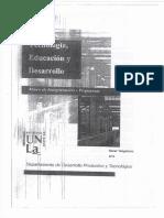 01 - Tecnología, Educación y Desarrollo, Oscar Tangelson