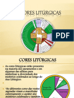 As Cores Liturgicas