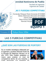 Equipo1 - Las 5 Fuerzas Competitivas