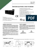 CUB5RT Product Manual